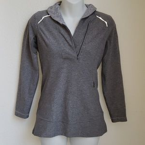 Lululemon think fast pullover size 6